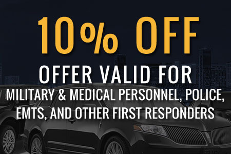 10% Off, Valid for Military & Medical Personnel, Police, EMTs, and Other First Responders