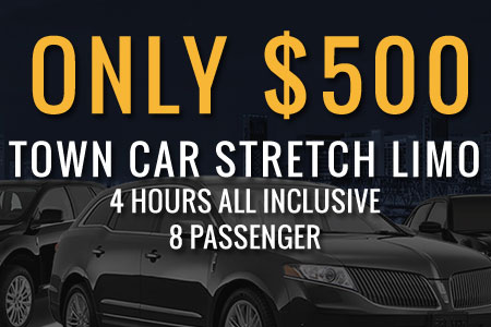 Only $600, SUV Super Stretch, 4 Hours all Inclusive, 8 Passenger